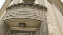 The old Bank of Nova Scotia building at Queen and River Streets in Toronto is now occupied by a charitable organization. (Peter Power/The Globe and Mail)