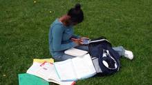 Doing homework according to a timer can cut down on battles. (Jamie Wilson/Getty Images/Hemera)
