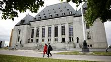 Lawyers across Canada have sought to suspend more than 800 criminal cases for unreasonable delay – including more than a dozen murder, attempted murder and manslaughter cases – since the Supreme Court set strict limits for trial lengths in July, a Globe and Mail review has found. (Blair Gable For The Globe and Mail)
