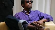 OutKast's André 3000 (nee André Benjamin) stars as Jimi Hendrix, in a film directed and written by John Ridley. (Charla Jones/The Globe and Mail)