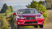 Toyota Motor Corp. is considering moving the production of some vehicles, such as the Lexus ES, to North America. (David Dewhurst)
