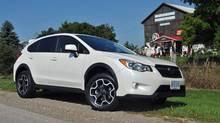The 2013 Subaru XV Crosstrek. (Michael Bettencourt for The Globe and Mail)