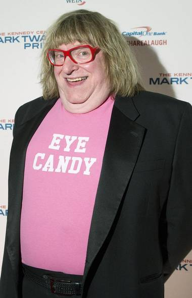 Let's start things off on a high note, shall we? Here's veteran comedy writer Bruce Vilanch, looking dapper and slightly deranged at the 2013 Mark Twain Prize for American Humor ceremony in Washington, D.C. (JONATHAN ERNST/REUTERS)