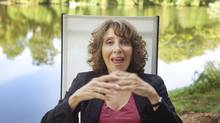 Andrea Martin in her Toronto home on September 11, 2010. (JENNIFER ROBERTS/The Globe and Mail)