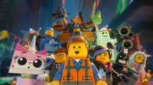 The Lego Movie focuses on Emmet (Chris Pratt), centre, who has to break out of comfortable daily routine to save Bricksburg. (Courtesy of Warner Bros. Picture/Courtesy of Warner Bros. Picture)