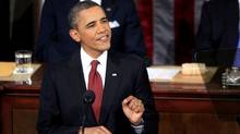 Barack Obama presents his State of the Union (JASON REED)