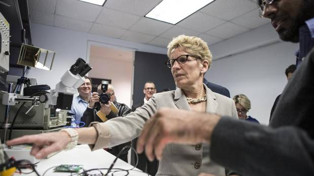 Wynne unveils ontario's plan to join cap-and-trade system