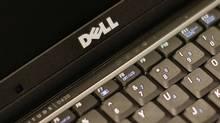 A Dell keyboard. (© Brendan McDermid / Reuters/Reuters)
