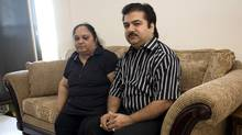 Dinesh Kumar, seen with his wife, Veena, in 2008, pleaded guilty to murder in the death of his son 1992. The Crown will drop the case against him. (Ashley Hutcheson for The Globe and Mail/Ashley Hutcheson for The Globe and Mail)