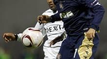 2010 File photo of NK Dinamo Zagreb's Pedro Morales (Darko Bandic/The Associated Press)