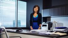Christine Poole of GlobeInvest Capital Management in her Toronto office on Sept. 29. (Jennifer Roberts for The Globe and Mail)