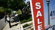 MLS real estate sign. (Deborah Baic/Deborah Baic/The Globe and Mail)