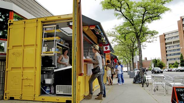 Shipping Containers Whet Entrepreneurs 39 Appetites The Globe And Mail