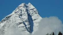 Purcell mountain lodge. The avalanche warning is in effect through to Monday, Feb. 22.