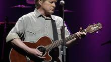 Don Henley of the Eagles performs during the first of three shows in Vancouver, BC, May 9, 2010. (Lyle Stafford for The Globe and Mail)