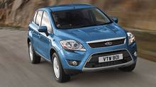 Ford Kuga crossover. (Ford Ford)