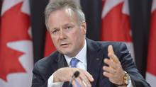Bank of Canada Governor Stephen Poloz speaks with media during a news conference on June 12, 2014 in Ottawa. (ADRIAN WYLD/THE CANADIAN PRESS)