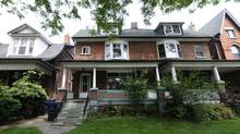 180 Pearson Ave. in Toronto's Roncesvalles Village neighbourhood. The house recently sold for $223,000 over the asking price. (Fred Lum/Fred Lum/The Globe and Mail)