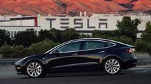 The Tesla Model 3 sedan. (AP)