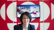 Heather Conway, Canadian Broadcast Corporation's executive vice-president of English-language services is photographed in the CBC headquarters in Toronto, Ontario, Tuesday, July 22, 2014. (Kevin Van Paassen For The Globe and Mail)