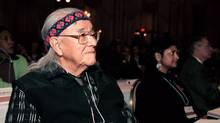 William Commanda was known internationally for his efforts to promote understanding between cultures. (David BarbourThe Globe and Mail/David Barbour/The Globe and Mail)