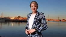 Heritage Minister Melanie Joly pose for a portrait along the Ottawa River April 19, 2016 in Gatineau, Quebec. (Dave Chan/For the Globe and Mail)