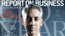 Bill Ackman, CEO of the Year, on the cover of ROB Magazine's December 2012 issue.