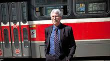 Dr. Eric Miller - head of of the Transit panel recommending an LRT on Sheppard Ave to Toronto City Council, poses for a photo on Queen St W, in Toronto, Ont., Friday, March 16, 2012. (Brett Gundlock for The Globe and Mail/Brett Gundlock for The Globe and Mail)