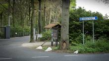 Entrance of the Rocep bungalow parc in Oisterwijk is seen in this April 23, 2014 photo. (Phil Nijhuis/PHIL NIJHUIS)