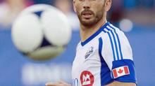 Montreal Impact's Marco Di Vaio in Montreal, July 4, 2012. Di Vaio can finally put his full focus on the Montreal Impact.The Italian Football Federation announced early Friday morning that Di Vaio had been acquitted on all charges against him in a match-fixing case in his native Italy. (Graham Hughes/THE CANADIAN PRESS)