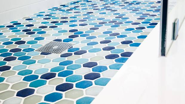 Tile high: Why not go the extra green mile during your next renovation by incorporating some of Fireclay's LEED-certified Crush wall and floor tiles? Made from 100-per-cent-recycled material reclaimed from glass and solar-panel factories, they come in more than 40 hues, encompass 17 shapes and sizes and can also be made to order. Price on request at Fireclay dealers across Canada (visit www.fireclaytile.com for locations) (© Malcolm Fearon/Bliss Images)