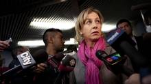 TTC chair and mayoral candidate Karen Stintz has promised a smart-card system in time for the Pan-Am Games in 2015. (Moe Doiron/The Globe and Mail)