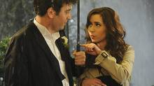 Josh Radnor as Ted and Cristin Milioti as Tracy in How I Met Your Mother. (Ron P. Jaffe/© 2014 Fox Television)