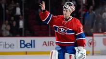 The Montreal Canadiens will have to wait at least one more game before goalie Carey Price makes his season debut. (Minas Panagiotakis/Getty Images)