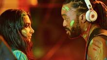 Natalie Perera and Machel Montano become an unlikely couple in Bazodee.