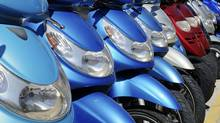 Mopeds have infiltrated our pristine eco-system. (iStockphoto)