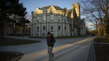Queen's University campus in Kingston, Ont. (KEVIN VAN PAASSEN/THE GLOBE AND MAIL)