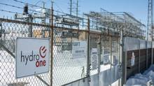 The Hydro One Pleasant Transfer Station is shown in Brampton, Ont., on March 9, 2015. (TIM FRASER FOR THE GLOBE AND MAIL)