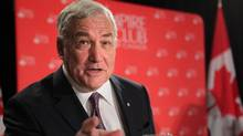 Conrad Black is seen at an Empire Club luncheon in Toronto on June 6, 2012. (Chris Young/THE CANADIAN PRESS)