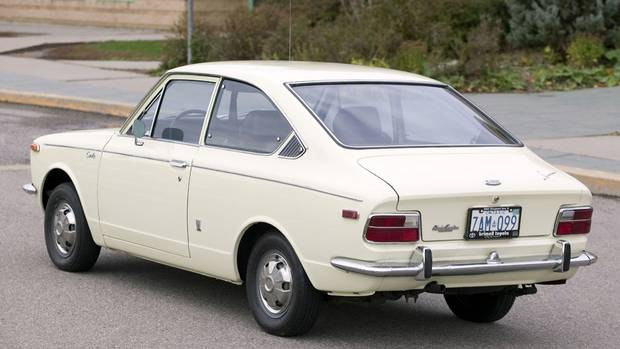 1969 Toyota Corolla. First launched in Japan in 1966, the Corolla arrived in Canada a year later. (Toyota)