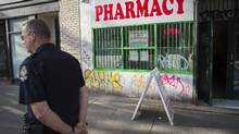 The fee is not charged at publicly operated clinics, but space restrictions mean private clinics are sometimes the only option for methadone patients to access treatment. (John Lehmann/The Globe and Mail)