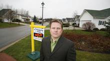 Ken LeBlanc, CEO of Moncton, N.B.-based Property Guys poses for a photo in Moncton on Tuesday November 27, 2007. (Name withheld)