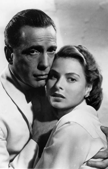 "Casablanca (1942) Of all the movies saddled with ""classic cinema"" label, this wartime-era tearjerker is worthy of the hype. Set in exotic Casablanca during the onset of the Second World War, the story rides on the strength of Humphrey Bogart's portrayal of the cynical American Rick, whose prosperous nightclub is really a front to supply political refugees with papers allowing them to escape Nazi tyranny. Rick's cool composure is shaken with the abrupt return of his former true love Ilsa (Ingrid Bergman), whose freedom-fighter husband Victor (Paul Henreid) is on the run from the Nazis. Although Ilsa falls willingly back into his arms, Rick hatches a scheme resulting in what surely must be the most selfless gesture in movie history. Here's looking at you, kid."