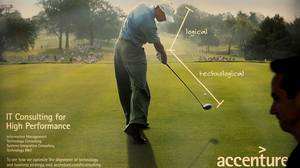 Tiger Woods in Accenture ad