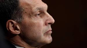 Former Lehman Brothers Chairman and Chief Executive Officer Richard Fuld testifies on Capitol Hill in Washington, Wednesday, Sept. 1.