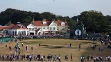 Muirfield has voted to admit women as members for the first time in its history on March 14, 2017. Members at the privately-owned club voted 80.2 per cent in favour of updating their membership policy. (ADRIAN DENNIS/AFP/Getty Images)