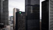 The Toronto-Dominion Centre and surrounding Financial District buildings, in Toronto. (Ian Willms For The Globe and Mail)