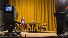 Rebecca Hall plays Christine Chubbuck in Christine.