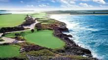 Sandals Emerald Reef Golf Club Gret Exuma, Bahamas.