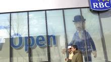 The Regent Park RBC branch in Toronto. (Kevin Van Paassen/Kevin Van Paassen/The Globe and Mail)